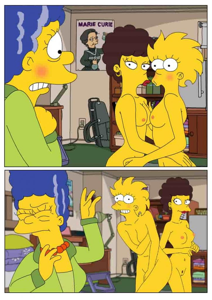 marge simpson porn comic