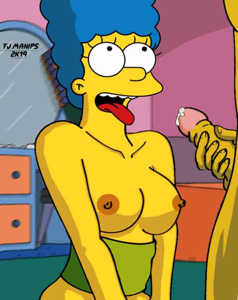 The simpsons bart porn